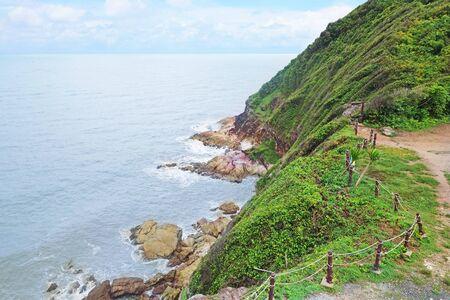 Sunshine Viewpoint at Koh Proet island, Sunshine Viewpoint is famous landmark in Chanthaburi Province,Thailand