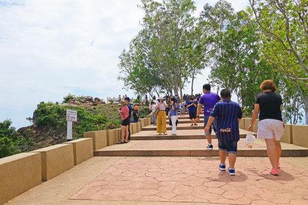 CHANTABURI, LAEM SING, THAILAND – 26 JULY 2019   Noen Nangphaya View Point , Chanthaburi, Thailand.