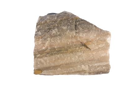 quartzite: Quartzite is a metamorphosed sandstone. Width of sample is 11 cm.