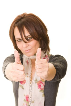 thumbs up Stock Photo - 12326774