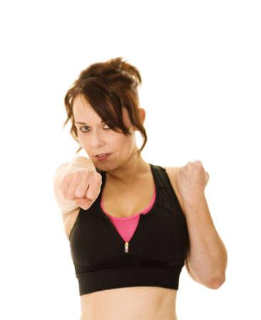 self defense: punch