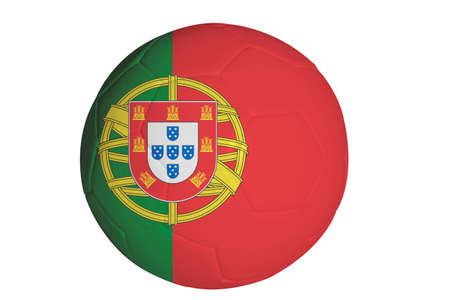 portugese: Portugese flag graphic on soccer ball