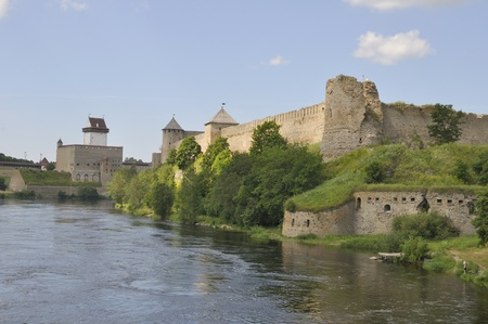 herman: Kind on the Ivangorod fortress and Herman