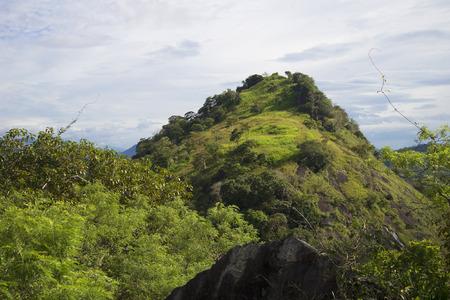 ceylon: Mountain landscape after the rain. Ceylon