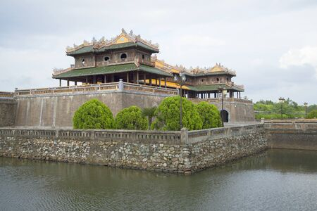 hue: At the gates of the forbidden Purple city. Hue, Vietnam