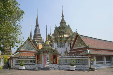 wat pho: On the territory of the temple Wat Pho. Bangkok, Thailand