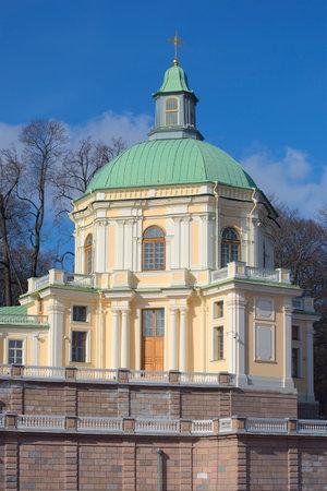 panteleimon: Home Church of St. Panteleimon - Church pavilion of Menshikovs Great Palace. Oranienbaum, Russia