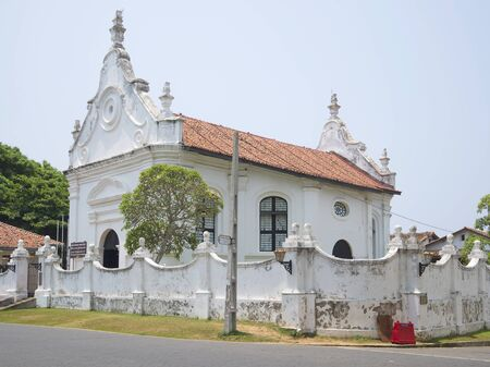 The old building of the dutch reformed Church in Galle. Sri Lanka