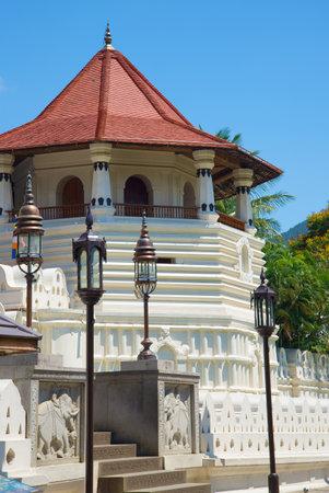kandy: The tower Octagon, Royal Palace of sity Kandy. Sri Lanka