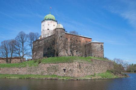 vyborg: Vyborg castle the may sunny day. Leningrad region, Russia