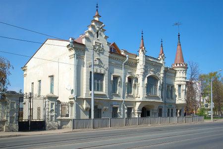 eclecticism: The old Shamils house, sunny may day. Kazan, Tatarstan