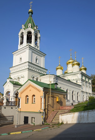 The Church of St John the Baptist in Nizhny Novgorod. Religious landmark Stock Photo