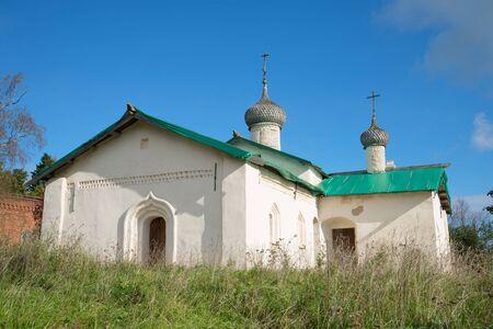 leningrad: Church of St. Basil the Great (1686) in the village Chernavino. Leningrad region, Russia