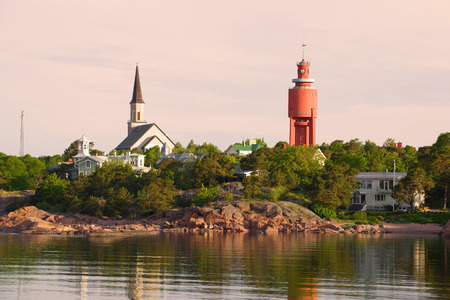 A quiet June morning in Hanko. Finland