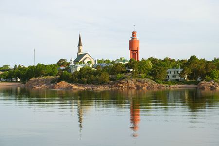 Hanko in the early June morning. Finland