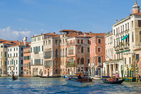 Cityscape on a sunny september day. Venice, Italy