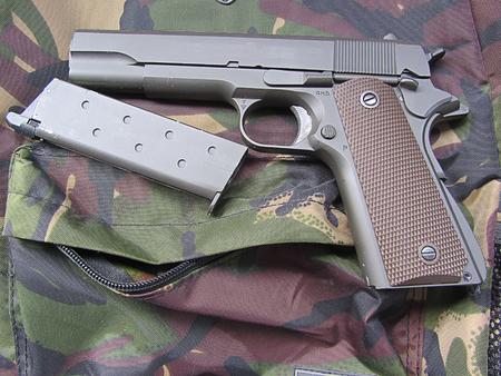 m16 ammo: gun m1911