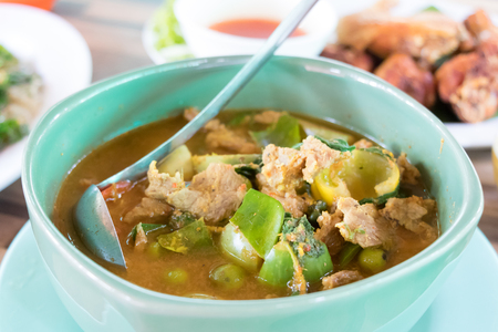 Hot & Spicy curry with pork