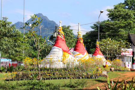 Three pagoda,border crossing  Thailand To myanmar