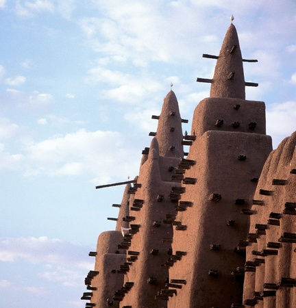 Great Mosque of Djenne Igrave Stock Photo