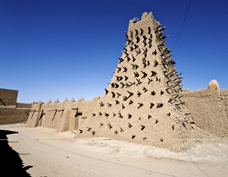 Sidi Yahiya mosque, Sidi Yahya is a mosque and madrassa  educational institutions  of Timbuktu in the West African country of Mali which finished construction in 1440