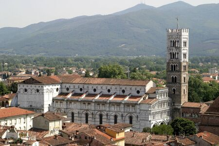 Cathedral of St Martin in Lucca  It was begun in 1063 by Bishop Anselm  later Pope Alexander II