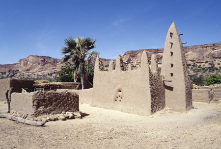 Mosque, Dogon village, Mali