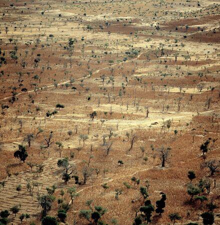 Dogon village Banani, Mali Stock Photo
