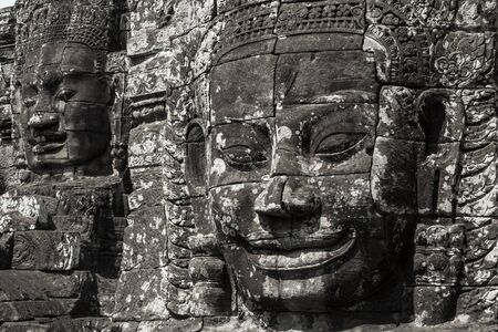 The Bayon Temple at Angkor Thom, Cambodia  Late 12th century AD
