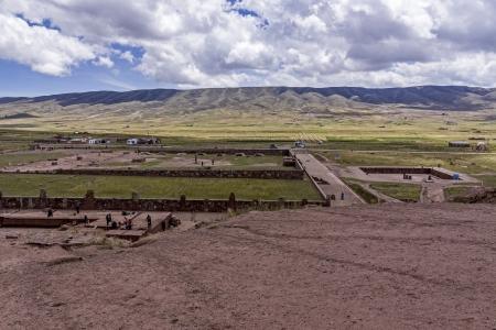 Tiwanaku, Bolivia Stock Photo - 17828071