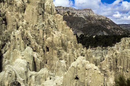 Valle de La Luna  Moon Valley , La Paz, Bolivia Stock Photo - 17828075