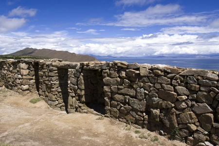 Isla del Sol  Lake Titicaca  Bolivia Stock Photo - 17828060