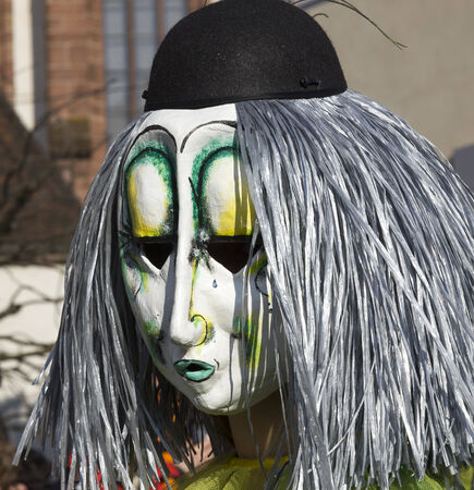 fasnacht: Fasnacht Festival,Carnival, Basel, Switzerland 2013