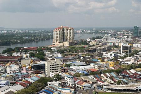 Kuching, Borneo, Malaysia  Editorial