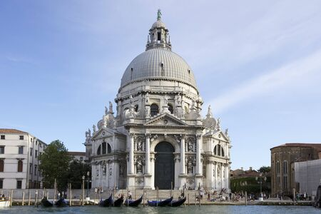 Basilica of St Mary of Health, Italian  Basilica di Santa Maria della Salute, commonly known simply as the Salute, Venice, Italy  photo
