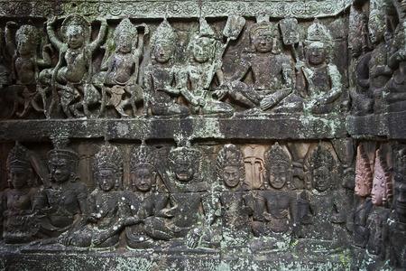 thom: Leper King Terras, Angkor Thom, Cambodia