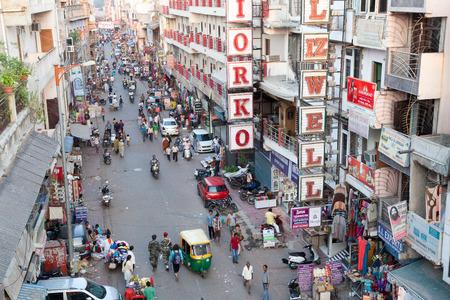 rd: Nuova Delhi Pahar-Ganj zona occupata dal tetto, N. Delhi, India N. Delhi, India Editoriali