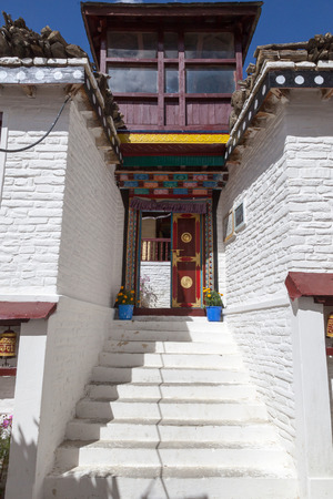 gompa: Marpa gompa, Mustang, Nepal Stock Photo