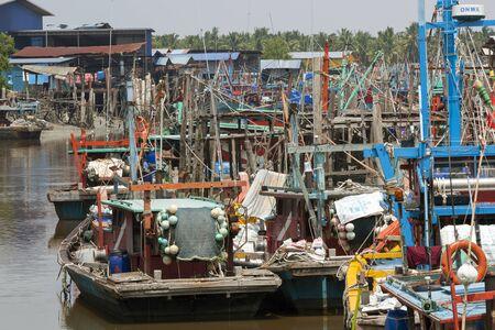 fishing village: Sekinchan fishing village, peninsular Malaysia.