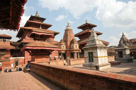 Patan Durbar Square, Kathmandu Valley, Nepal Editorial