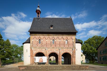 world culture: World culture heritage monastery Lorsch Germany. Stock Photo