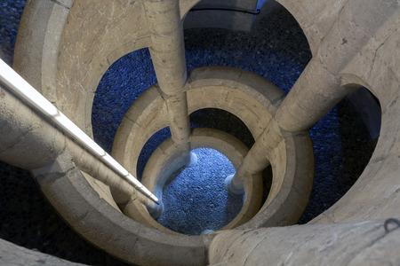durer: The Munot is a circular 16th century fortification design by Albrecht Durer. Schaffhausen, Switzerland