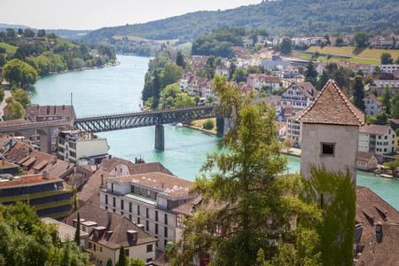 The Munot is a circular 16th century fortification in Schaffhausen, Switzerland