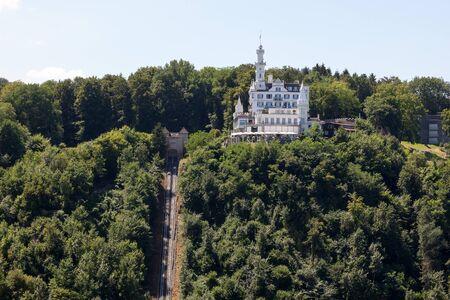 Chateau Gtsch in Lucerne, Switzerland.
