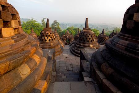 YOGYAKARTA: SBorobudur Temple Complex, Yogyakarta, Indonesia.