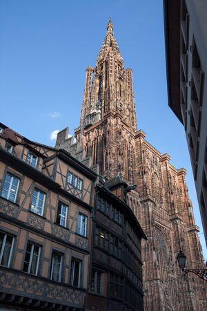 Notre Dame Cathedral, Strasbourg, Alsace, France