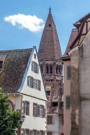 Church of Saint Foy in Selestat, Alsace, France.