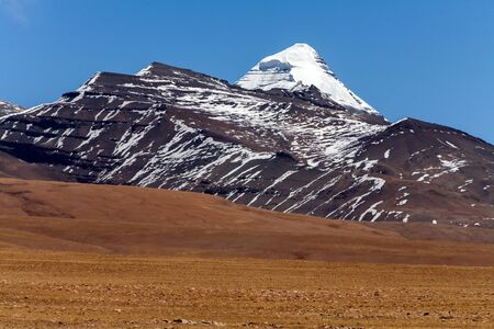 jainism: Mount Kailash, Tibetan Buddhism, sacred mountain. Tibet, China.