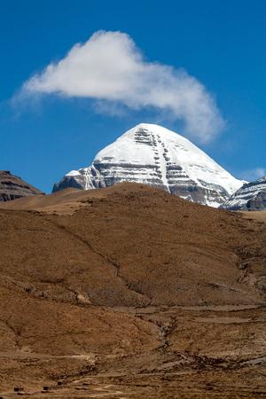 Mount Kailash, Tibetan Buddhism, sacred mountain. Tibet, China.