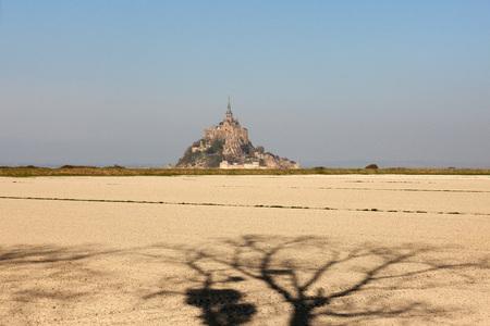 View of Le Mont-Saint-Michel.